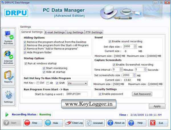 keylogger download freeware
