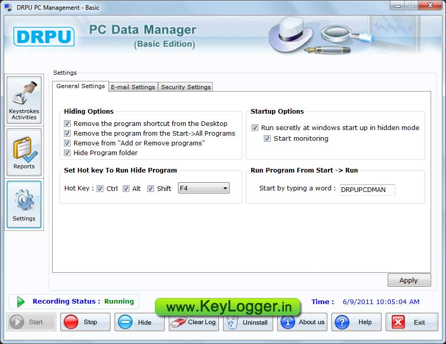 Key Logger Gratis screenshot